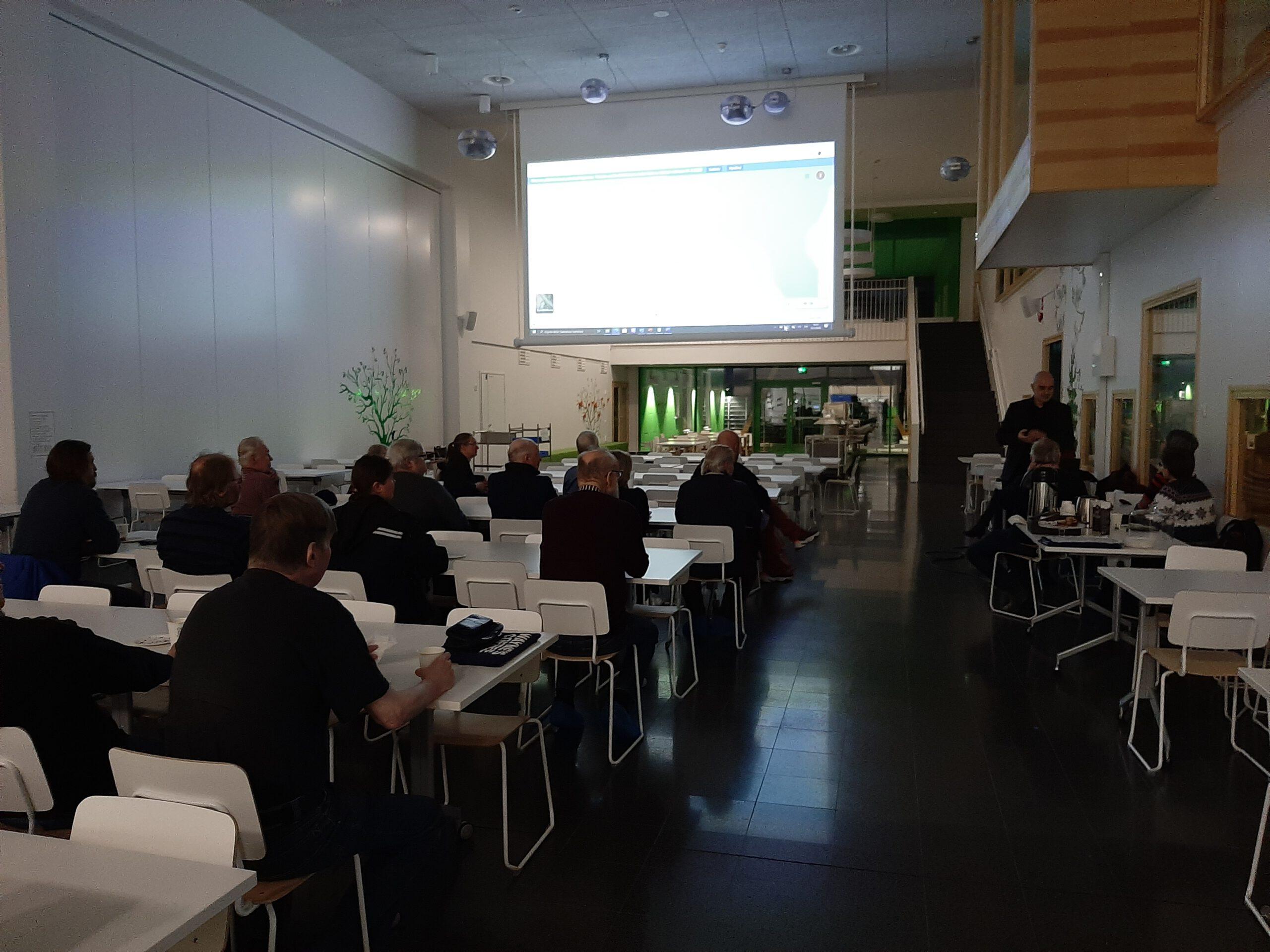 Karstu-Paloniemi-Roution aluetoimikunnan kokouksessa 25.2.2020